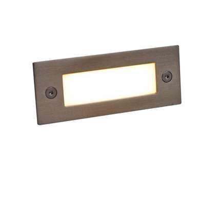 Spotlight/downlight-'LEDlite-Recta-11-WW'-Moderna-rostfritt-stål---LED-inkluderat-/-Utomhuslampa,-Inomhus,-Badrum