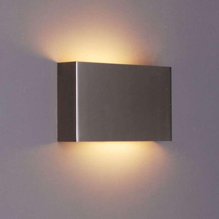 Vägglampa-'Otan'-Design-stål---Passande-för-LED-/-Inomhus
