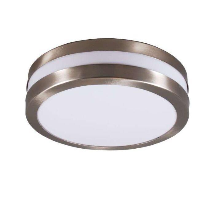Vägg--och-taklampa-rostfritt-stål-IP44---Leeds