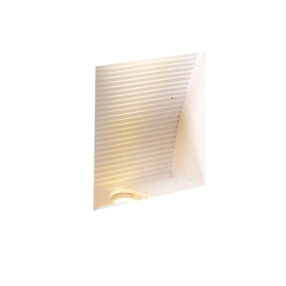 Vägglampa-'Zero-Q'-Moderna-vit/gips---LED-inkluderat-/-Inomhus
