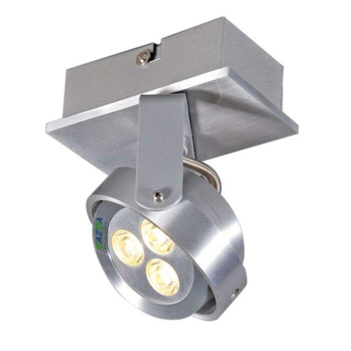 Plafond-strålkastare-'Keoni-1'-Moderna-aluminium---LED-inkluderat-/-Inomhus