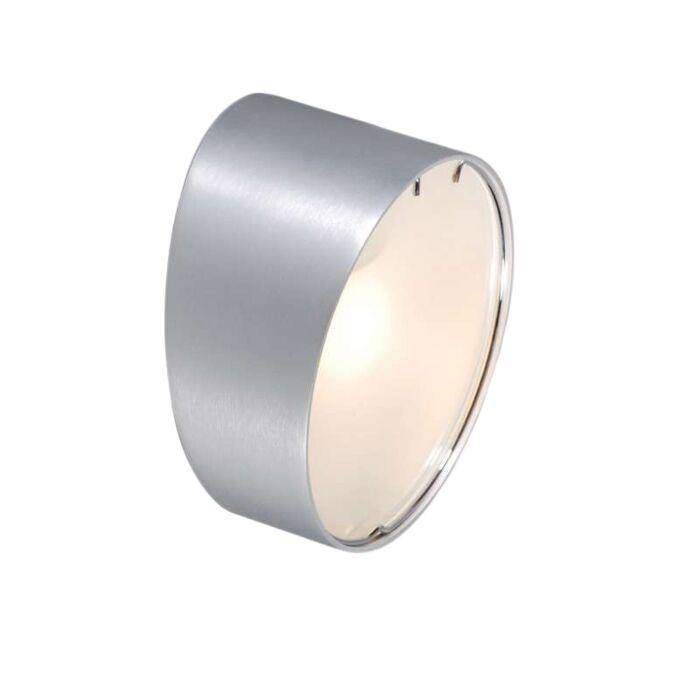 Vägglampa-'Phone-R'-Moderna-aluminium---Passande-för-LED-/-Inomhus