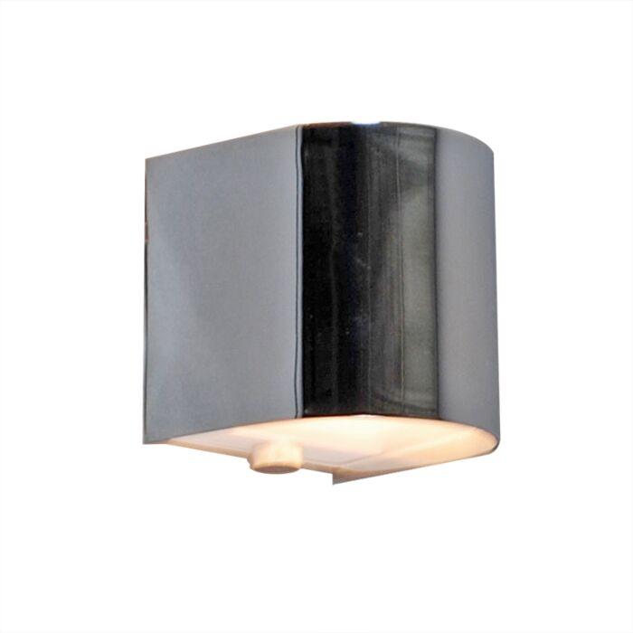 Vägglampa-'Torci'-Design-krom---Passande-för-LED-/-Inomhus