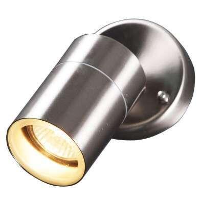 Vägglampa-'Solo'-Moderna-stål---Passande-för-LED-/-Utomhuslampa
