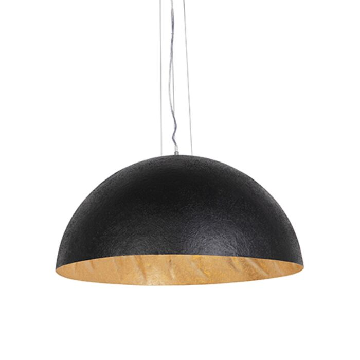 Industriell-hänglampa-svart-med-guld-70-cm---Magna