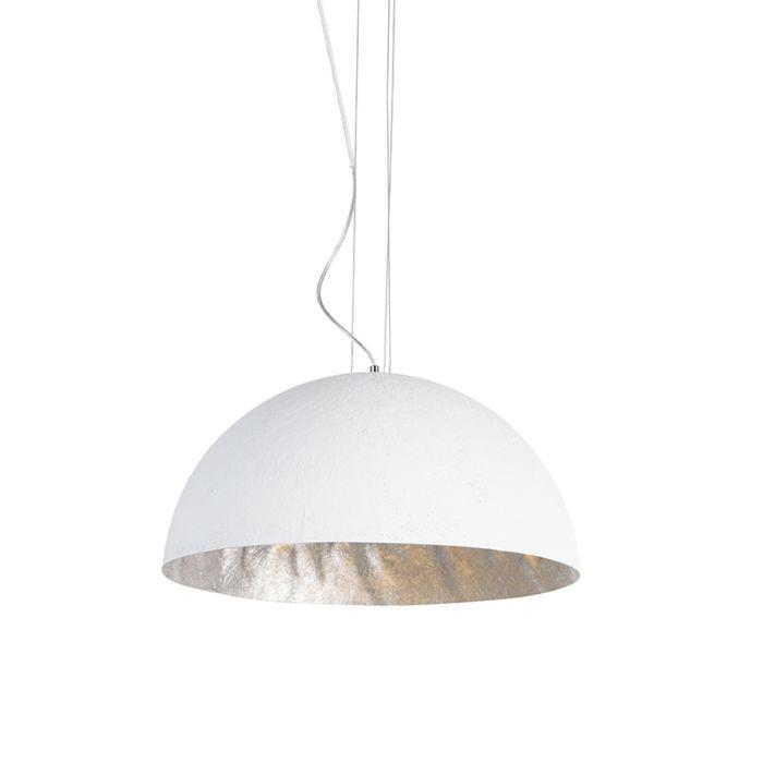 Modern-hängande-lampa-vit-50-cm---Magna
