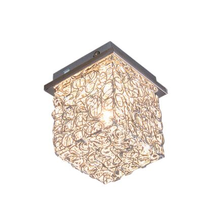 Plafond-'Draht-Square-S'-Moderna-aluminium---Passande-för-LED-/-Inomhus