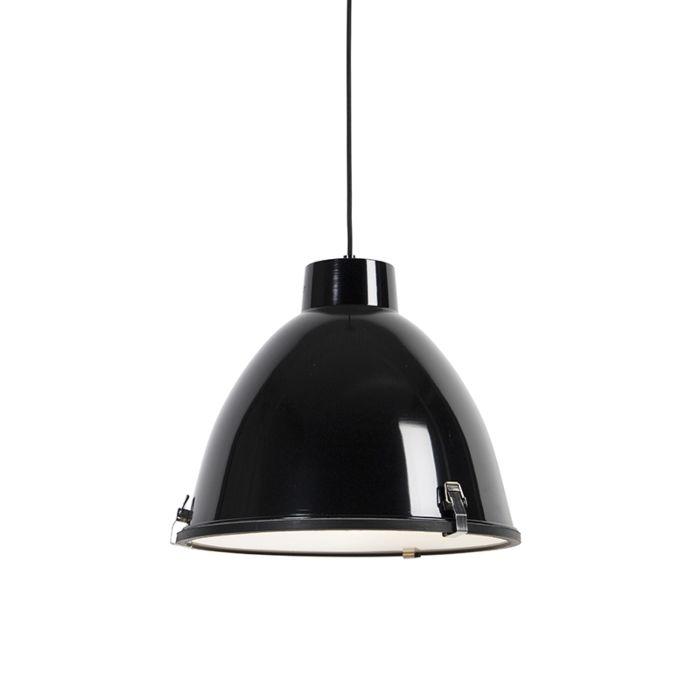 Industriell-hänglampa-svart-38-cm-dimbar---Anteros