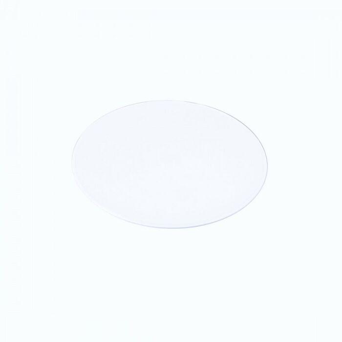 Lampskärm-'35cm-PVC'-Nej-vit/polyester