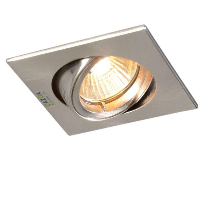 Spotlight/downlight-'Safe-Q'-Moderna-stål---Passande-för-LED-/-Inomhus