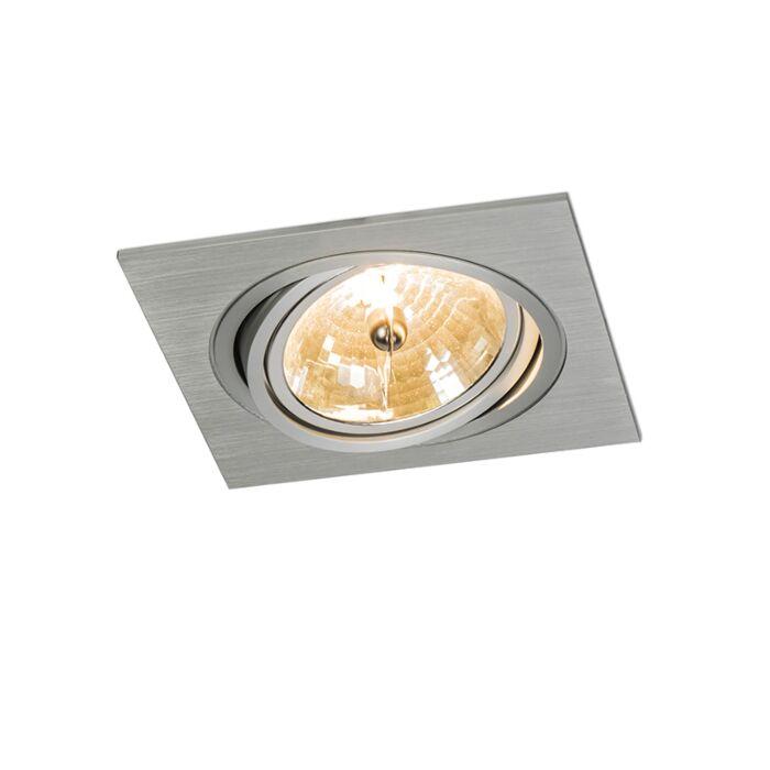 Stor-spotlight/downlight-'Impact-Q'-Moderna-aluminium---Passande-för-LED-/-Inomhus