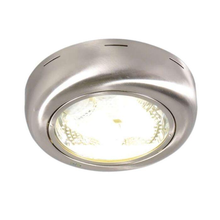 Plafond-'Doblo-R'-Moderna-stål---Passande-för-LED-/-Inomhus