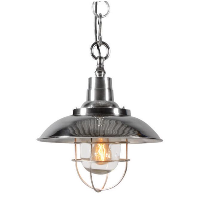Nautisk-taklampa-'Odeon'-Lantlig-krom/nickel---Passande-för-LED-/-Inomhus
