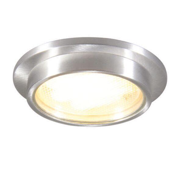 Spotlight/downlight-'Topaz-R'-Moderna-aluminium---Passande-för-LED-/-Utomhuslampa,-Inomhus,-Badrum
