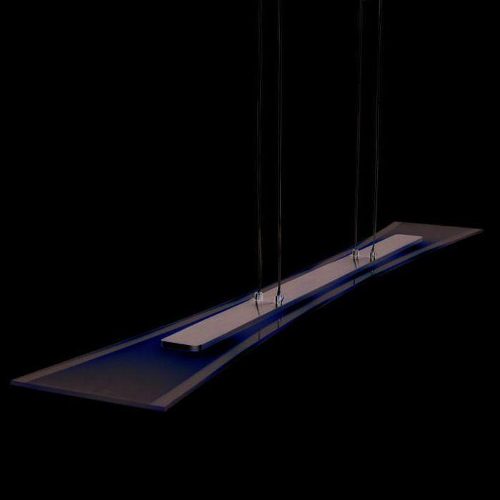 Taklampa-'Nimo-100'-Moderna-transparent/glas---LED-inkluderat-/-Inomhus