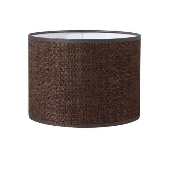 Lampskärm-'20/20/15'-Moderna-brun/tyg-Passande-för-LED