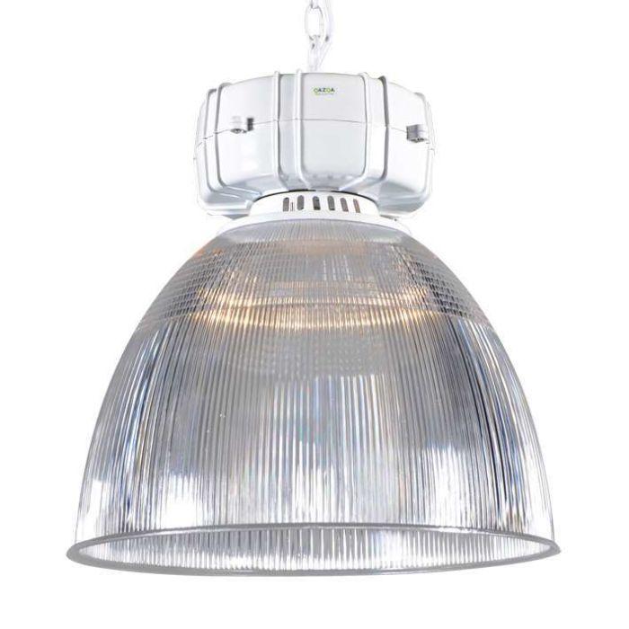 Taklampa-'Output-I'-Industriell-transparent/polyester---Passande-för-LED-/-Inomhus