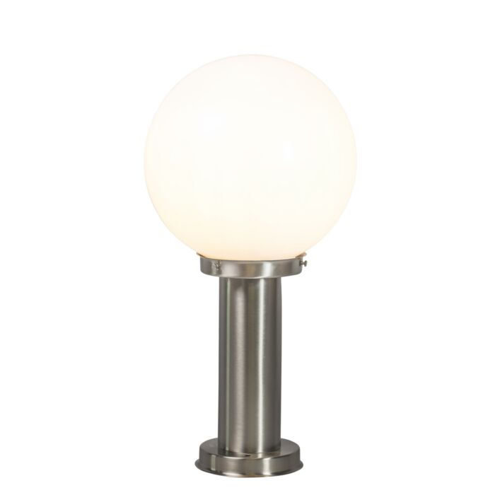 Modern-utomhuslampa-stålstål-rostfritt-stål-50-cm---Sfera