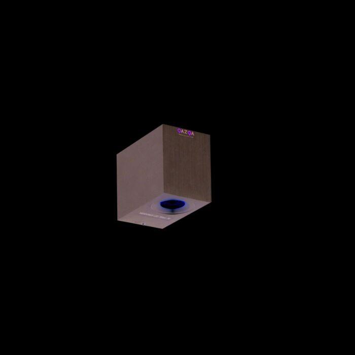 Vägglampa-'Xterior-2'-Moderna-aluminium---LED-inkluderat-/-Utomhus,-Inomhus,-Badrum