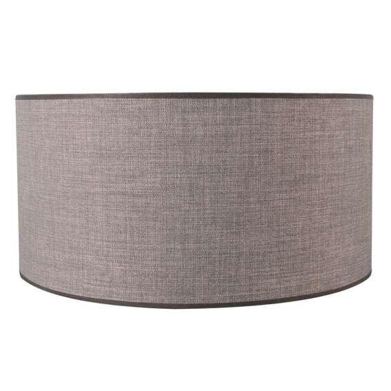 Lampskärm-'Kap-R-50/50/25-E27-DS'-Moderna-grå/tyg