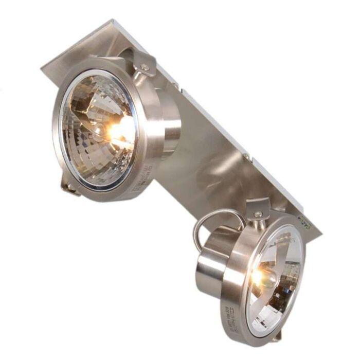 Plafond-strålkastare-'Go-2'-Moderna-stål---Inomhus
