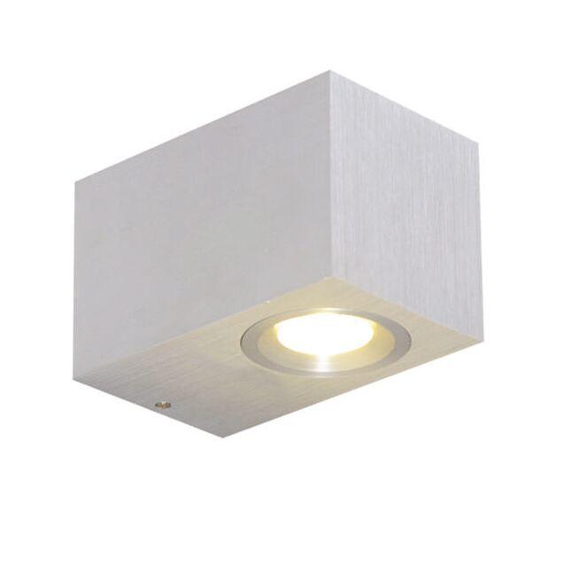 Vägglampa-'xterior'-Moderna-aluminium---LED-inkluderat-/-Utomhuslampa,-Inomhus,-Badrum