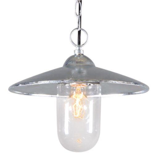 Nautisk-taklampa-'Hamburg'-Lantlig-grå/zink---Passande-för-LED-/-Utomhuslampa,-Inomhus,-Badrum