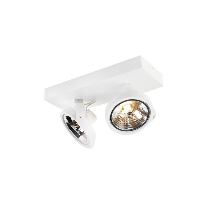 Designfläckvitt-justerbar-2-ljus-inkl-LED---Go