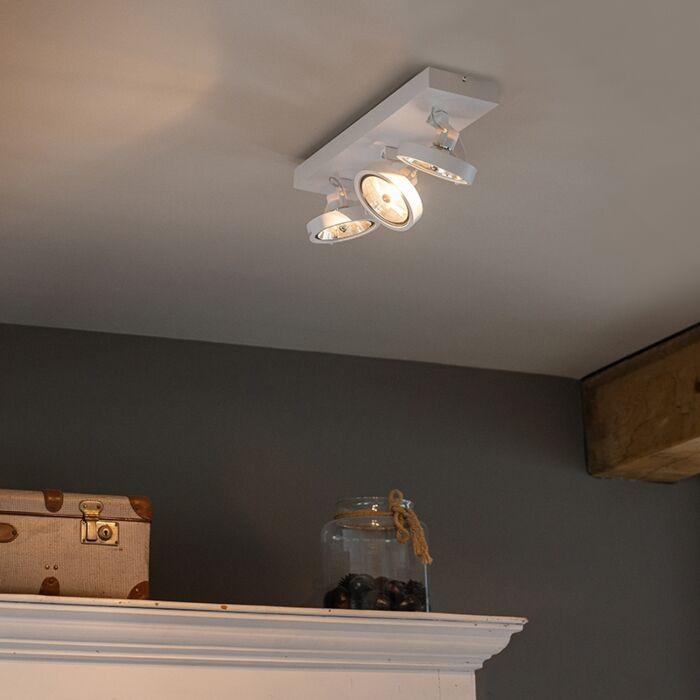 Designfläckvitt-justerbar-3-ljus-inkl-LED---Go