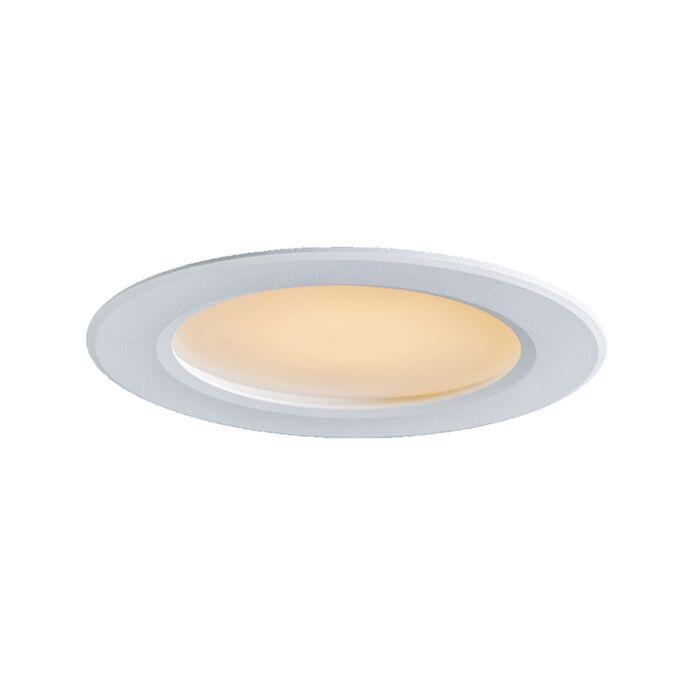 Spotlight/downlight-'Radem-6W'-Moderna-vit/polyester---LED-inkluderat-/-Inomhus,-Badrum