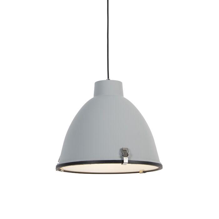 Industriell-hänglampa-grå-38-cm-dimbar---Anteros