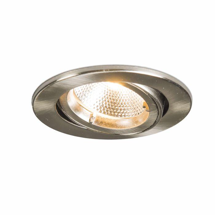 Spotlight/downlight-'Safe-R-6W'-Moderna-stål---LED-inkluderat-/-Inomhus