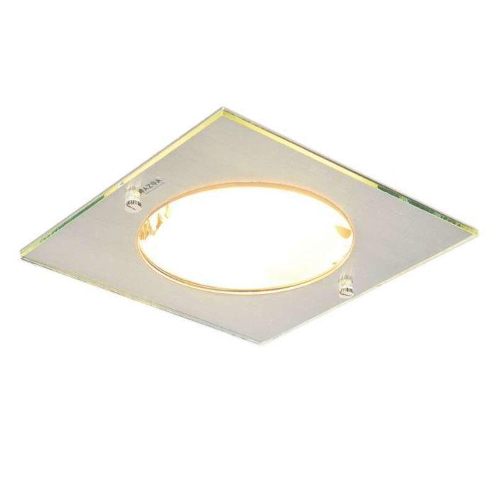 Spotlight/downlight-'Doblo-Delux-Q'-Moderna-stål---Passande-för-LED-/-Inomhus