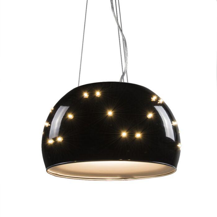 Taklampa-'Universe-40'-Design-svart/metall---Passande-för-LED-/-Inomhus