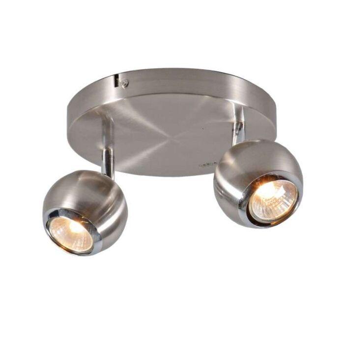 Plafond-strålkastare-'Buell-2'-Moderna-stål---Passande-för-LED-/-Inomhus