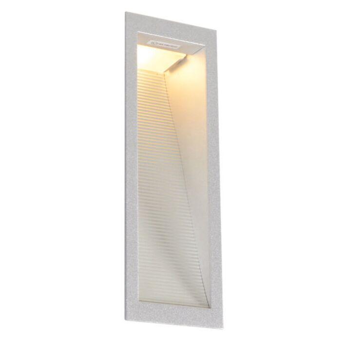 Inbyggd-vägglampa-'Down-Under-M'-Moderna-aluminium---Passande-för-LED-/-Inomhus,-Badrum