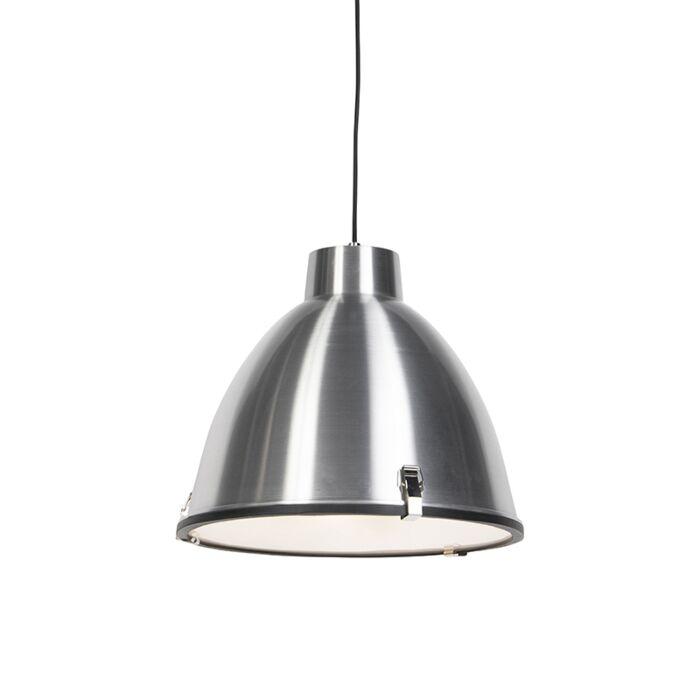 Industriell-hänglampa-aluminium-38-cm-dimbar---Anteros