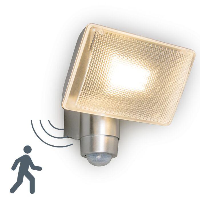 Vägg-och-tak-flood-strålkastare-'VAP-Delux'-Moderna-aluminium---LED-inkluderat-/-Utomhuslampa