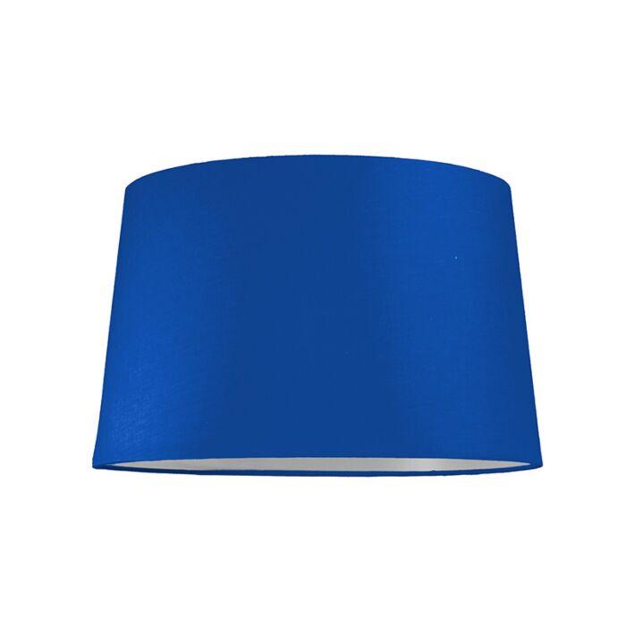 Lampskärm-'40/25/35-R-SU-E27'-Nej-blå/tyg-Passande-för-LED