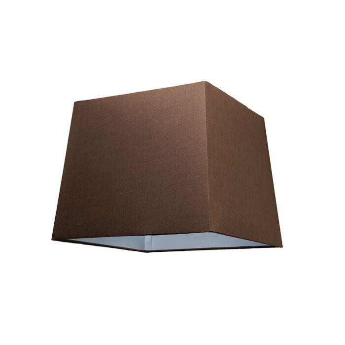 Lampskärm-'30cm-Q-SU-E27'-Nej-brun/tyg-Passande-för-LED