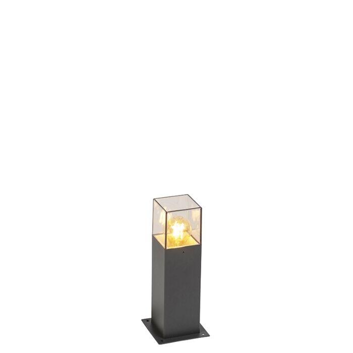 Modern-utomhuslampa-30-cm-antracit-IP44---Danmark