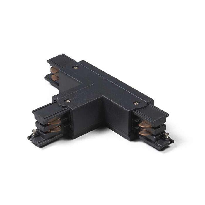 3-fas-samlingsskena-kontakt-'TLB'-Moderna-svart/polyester-Inomhus