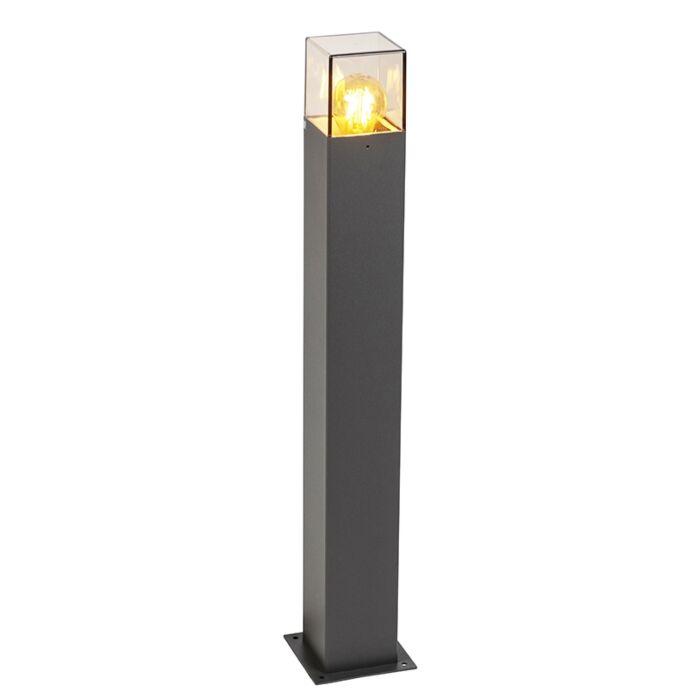 Modern-stående-utomhuslampa-70-cm-antracit-IP44---Danmark