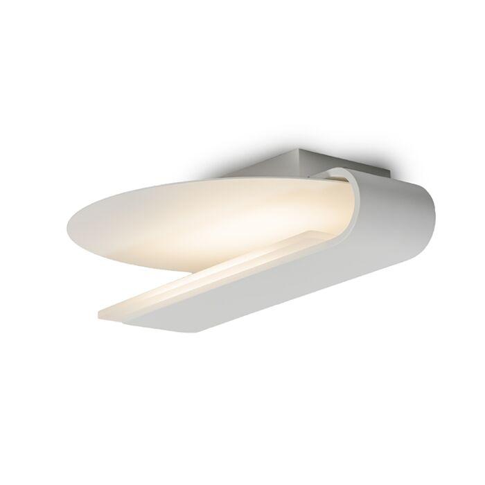 Plafond-och-vägglampa-'Satellite-3'-Moderna-vit/aluminium---LED-inkluderat-/-Inomhus,-Badrum
