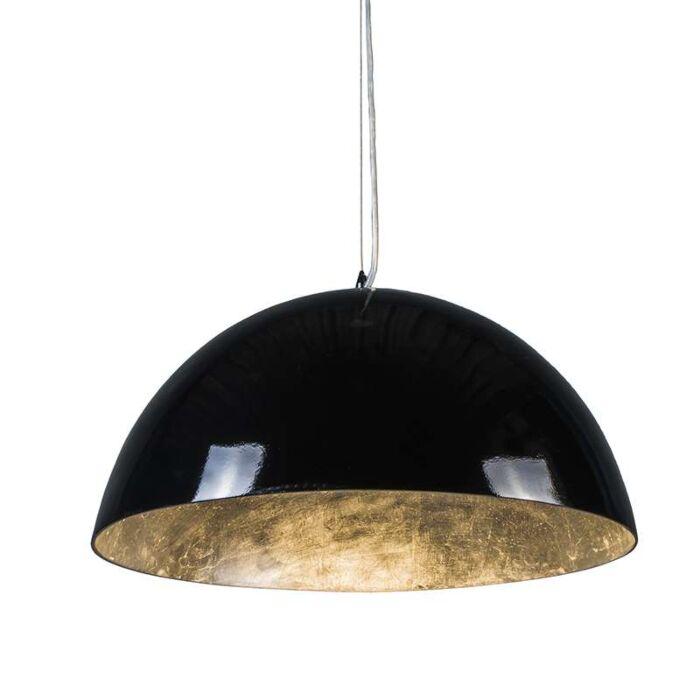 Stor-taklampa-'Magna-Glossy-55'-Moderna-svart/polyester---Passande-för-LED-/-Inomhus