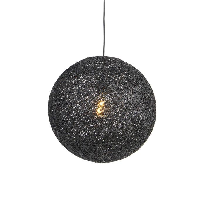 Hängande-lampa-svart-45-cm---Corda