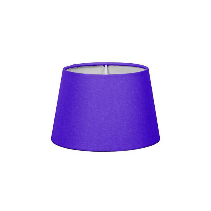Lampskärm-'18cm-R-SD-E27'-Nej-lila/tyg-Passande-för-LED