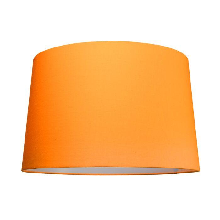 Lampskärm-'50cm-R-SU-E27'-Nej-orange/tyg-Passande-för-LED