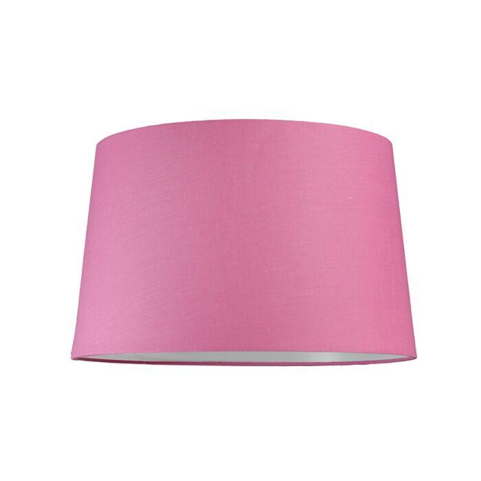 Lampskärm-'40cm-R-SU-E27'-Nej-rosa/tyg-Passande-för-LED