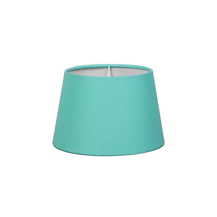Lampskärm-'18cm-R-SD-E27'-Nej-turkos/tyg-Passande-för-LED